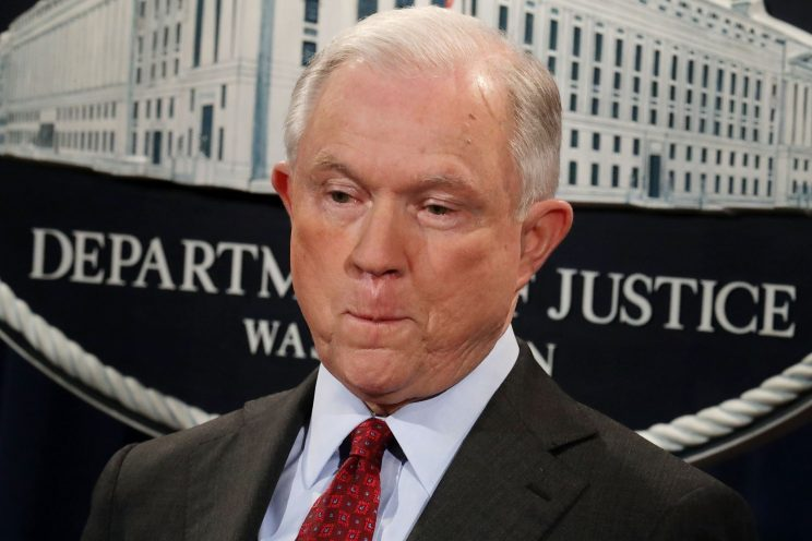 Trump slams Sessions as he reportedly considers firing his own AG