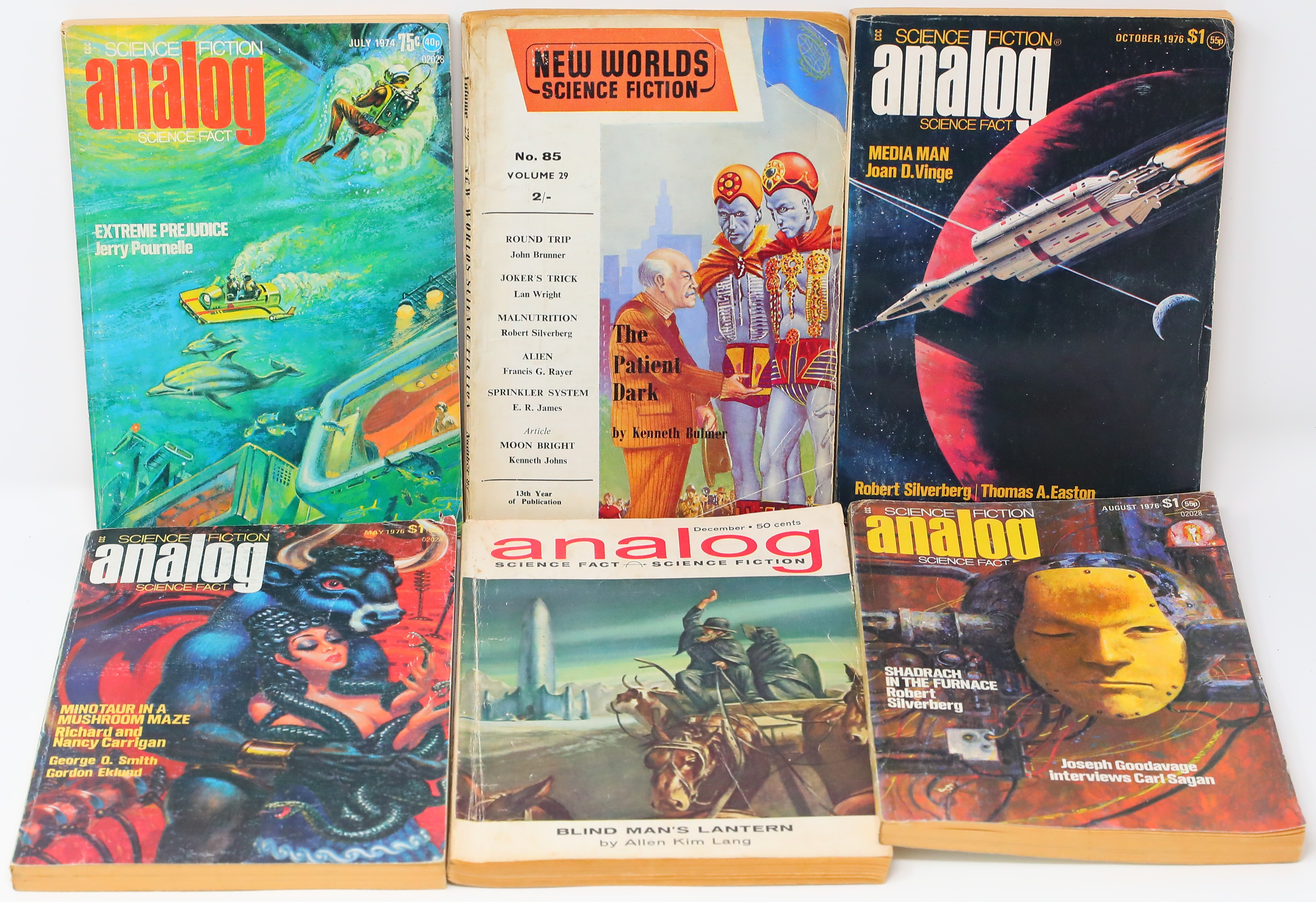 Former Beatle John Lennon's sci-fi books are being sold at auction. (Photo: GWS Auctions)