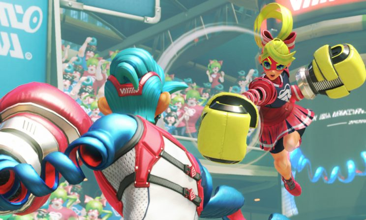 Nintendo's 'Arms' is a whimsical fighter with wonderful multiplayer
