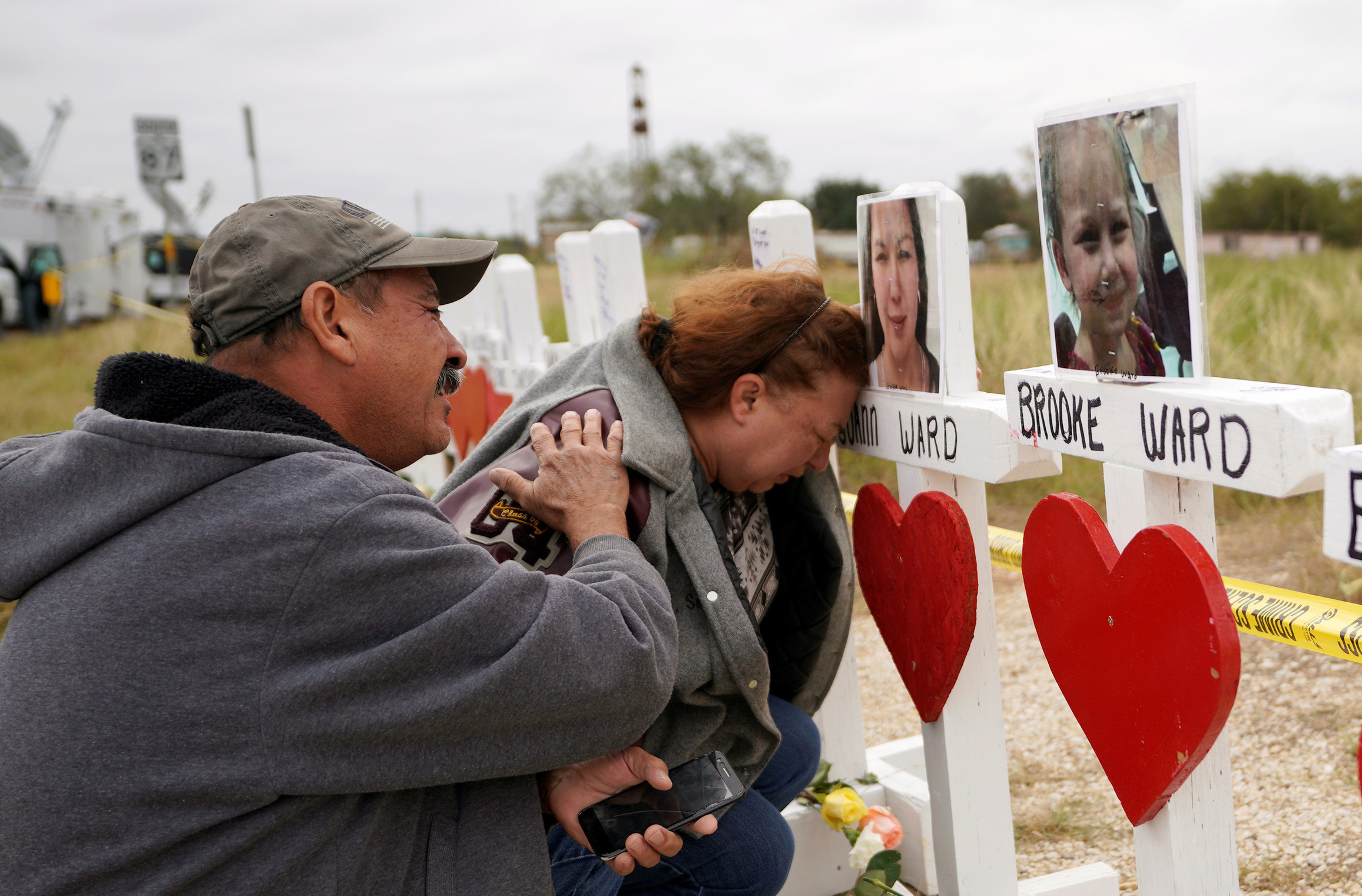 Ward family ripped apart by the Texas church massacre: 'She lived for those kids'