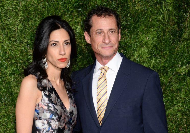 Abedin announces her separation from Weiner