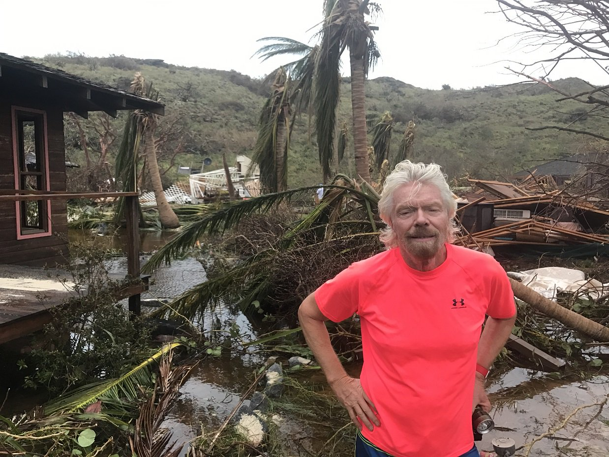 Island owner Richard Branson: Hurricanes 'start of things to come'