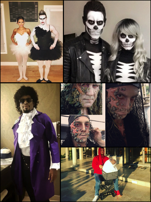 Vote Now: Top 5 NHL Halloween 2016 Player Costumes