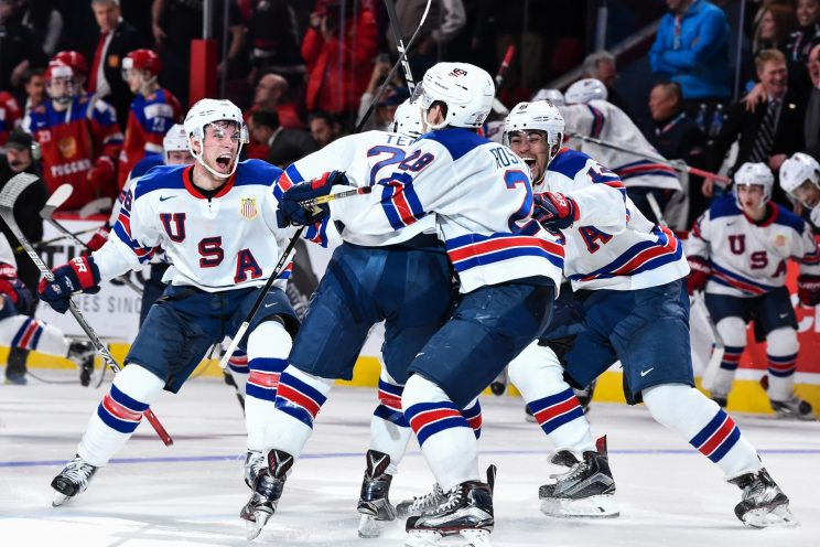 WJC: USA Ends Skid Vs. Russia, Advances To Final; 5 Takeaways, Terry, Parsons Play Hero