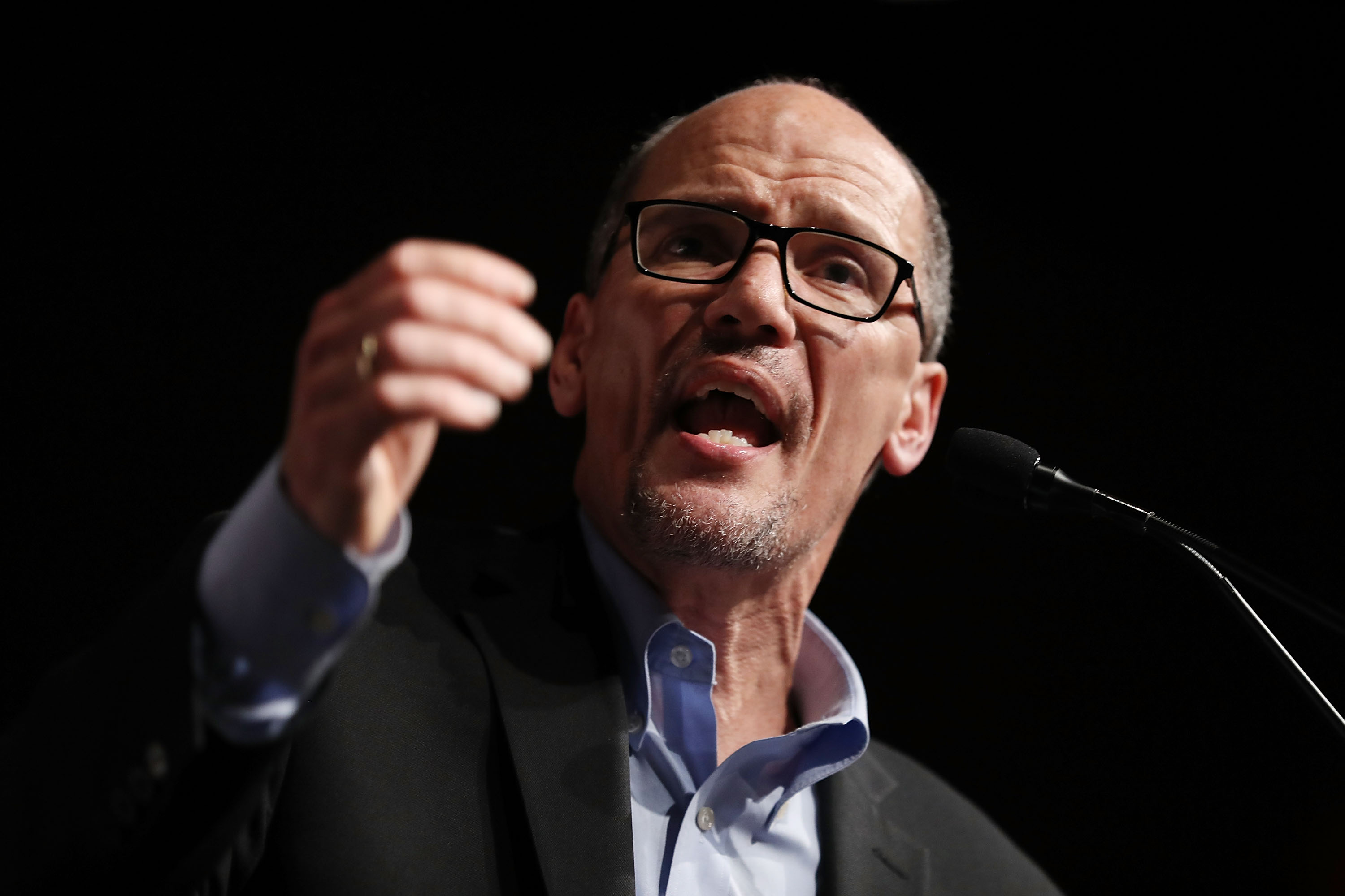 New Democratic leader orders party to 'organize everywhere'