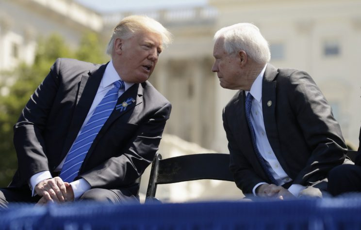 Trump: Sessions is 'beleaguered'