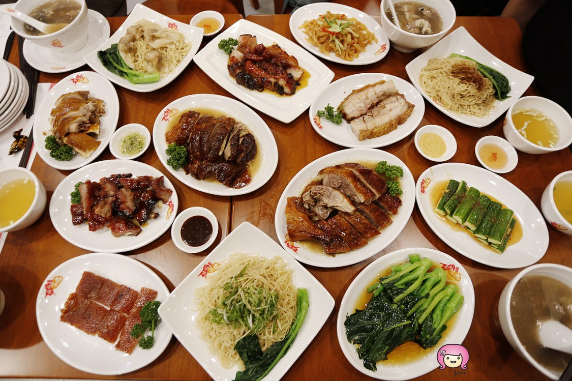 信義區美食,台北101,台北美食,甘牌燒味,甘牌燒鵝,香港米其林一星 @VIVIYU小世界