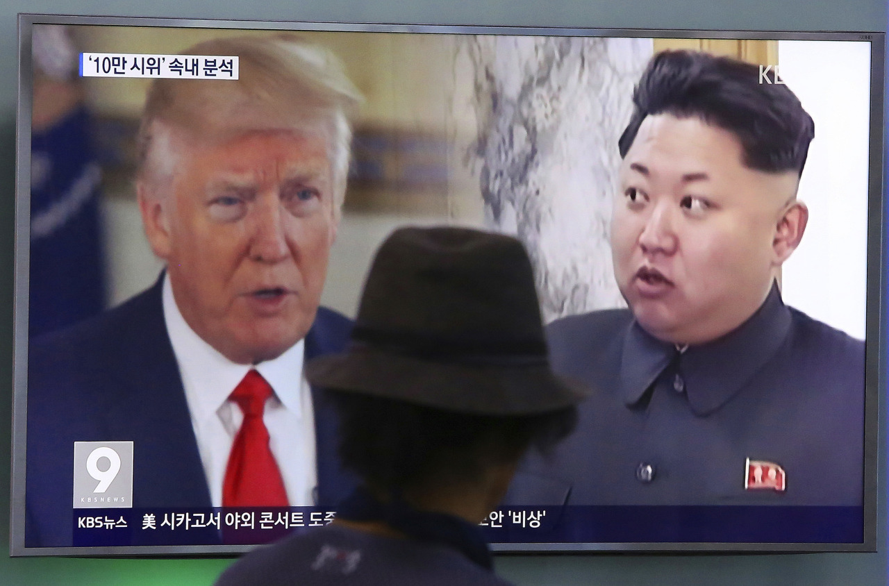 Trump says he's declaring North Korea a terrorism sponsor