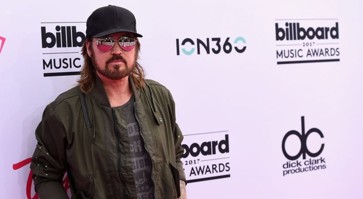 Billy Ray Cyrus Hurries Out Stanley Cup Anthem For Predators, And It Shows