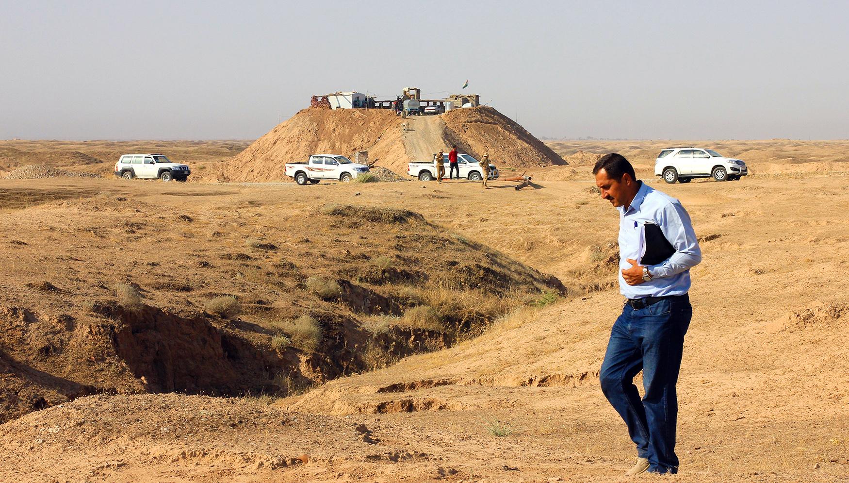 Dangerous humanitarian mission in Iraq