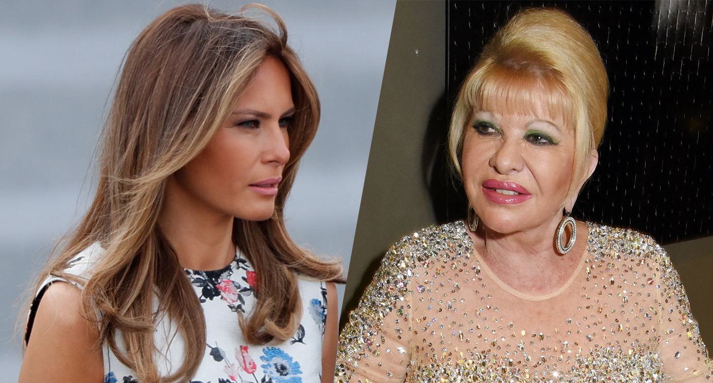 Melania Trump's office calls Ivana's 'first lady' comment 'self-serving noise'