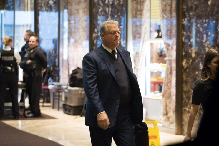 Al Gore: I just had an 'extremely interesting conversation' about climate change with Donald Trump