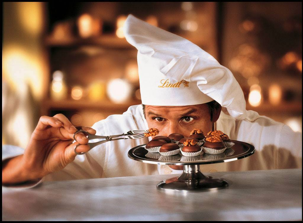 chef and chocolate