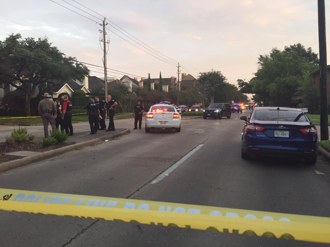 Houston gunman wore Nazi emblems during shooting