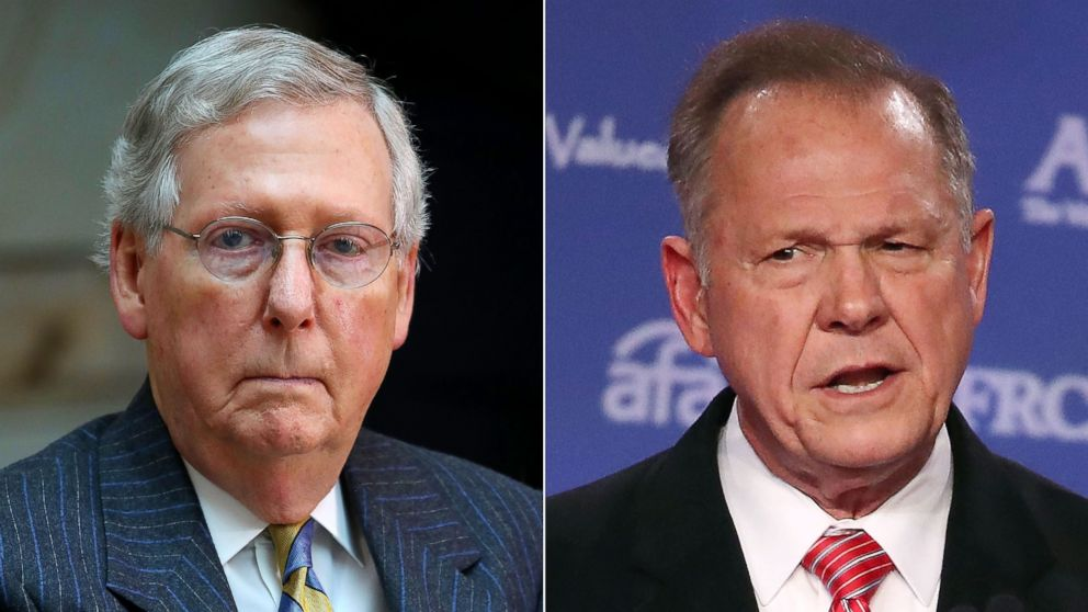 Could Roy Moore become the first U.S. senator expelled since the Civil War?