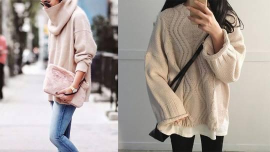 4款冬季超百搭毛衣!花樣、款式不用多,搭對才要緊