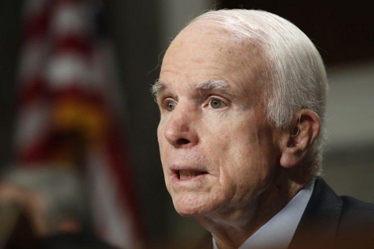 News of John McCain's illness broke during meeting to save GOP health care plan