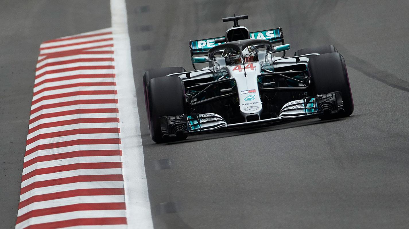 西班牙GP自由練習二RBR雙雄緊追Hamilton