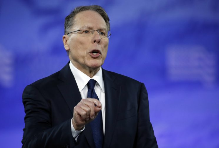 What, no zombies? At conservative confab, NRA's LaPierre lists threats to civilization, starting with the media