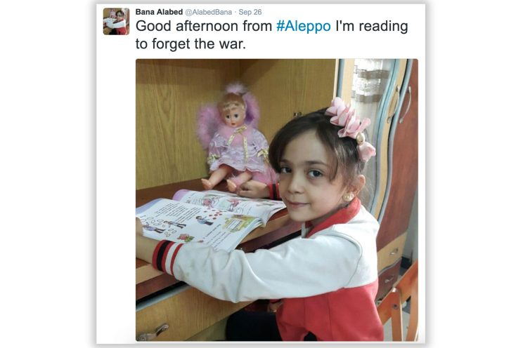 Syrian girl: 'Under attack. Nowhere to go.'
