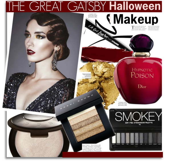 The Great Gatsby Halloween Makeup
