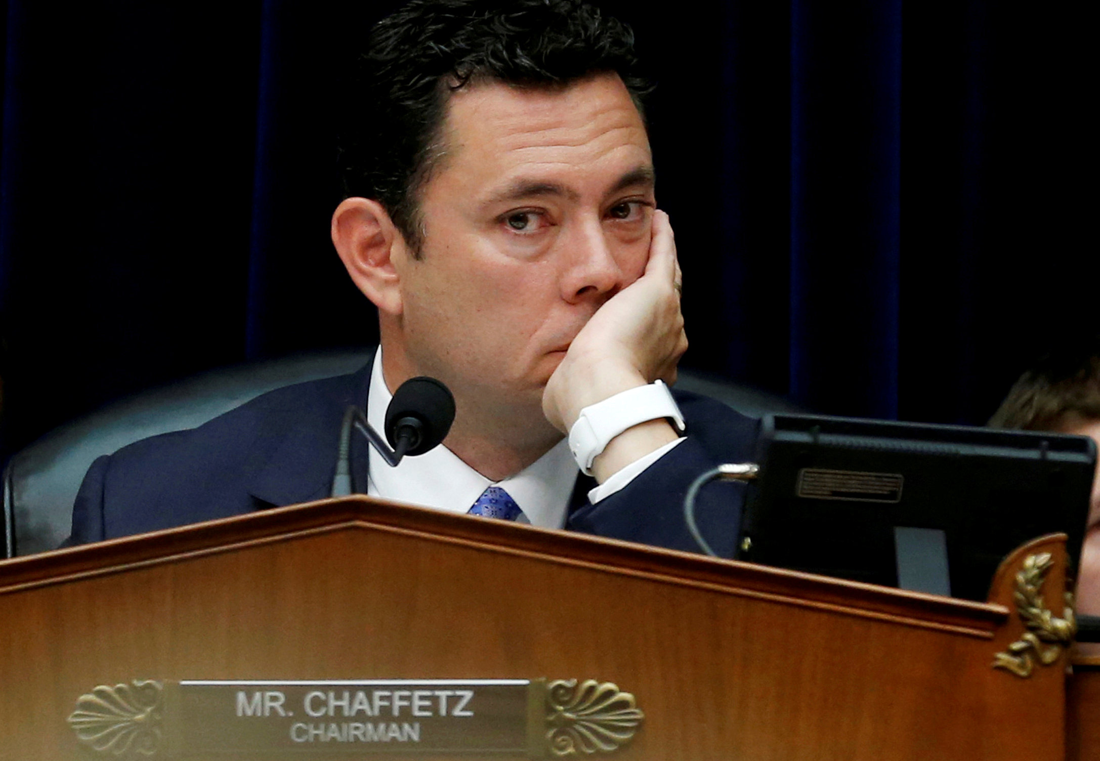 'What a class act!' Chaffetz says he'll pass on reading Clinton's book