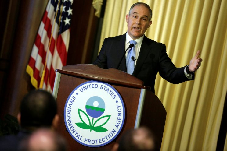 EPA chief Pruitt's newly released emails show deep ties to fossil fuel interests