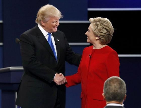 7 mentiras del debate presidencial entre Donald Trump y Hillary Clinton