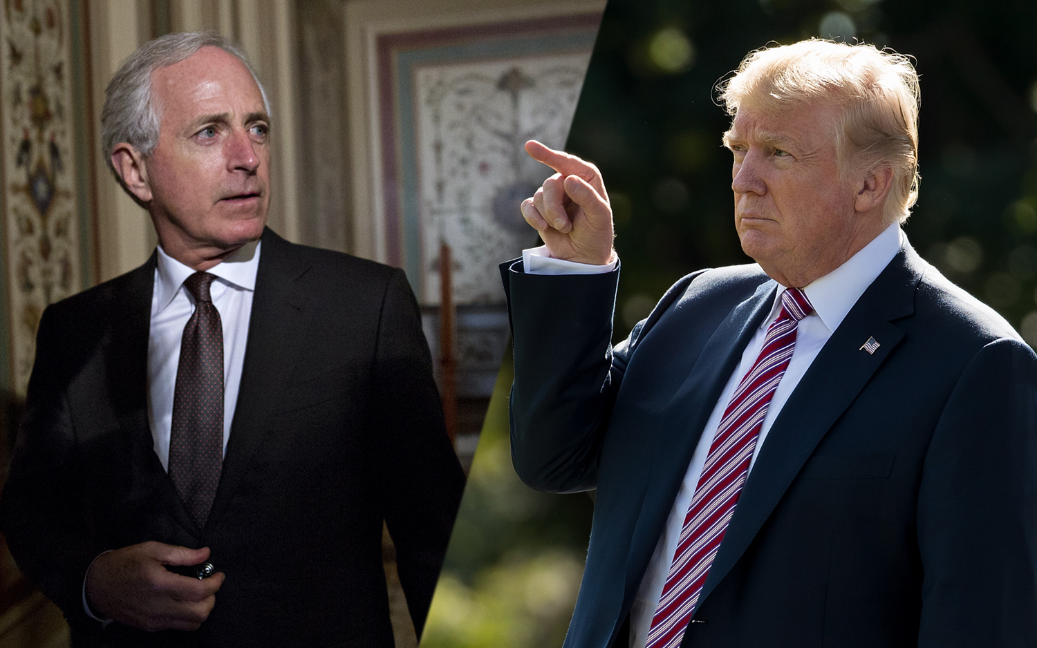 Trump: N.Y. Times tricked Corker by taping interview