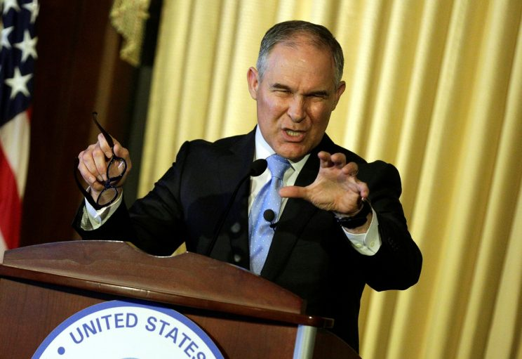 EPA chief Pruitt appeals to 'civility' but fails to quell environmentalists' concerns