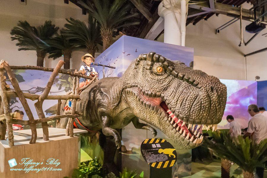[高雄展覽]駁二藝術特區-侏儸紀恐龍樂園展(06/30-09/02)/恐龍吉普車探險x騎乘恐龍冒險去