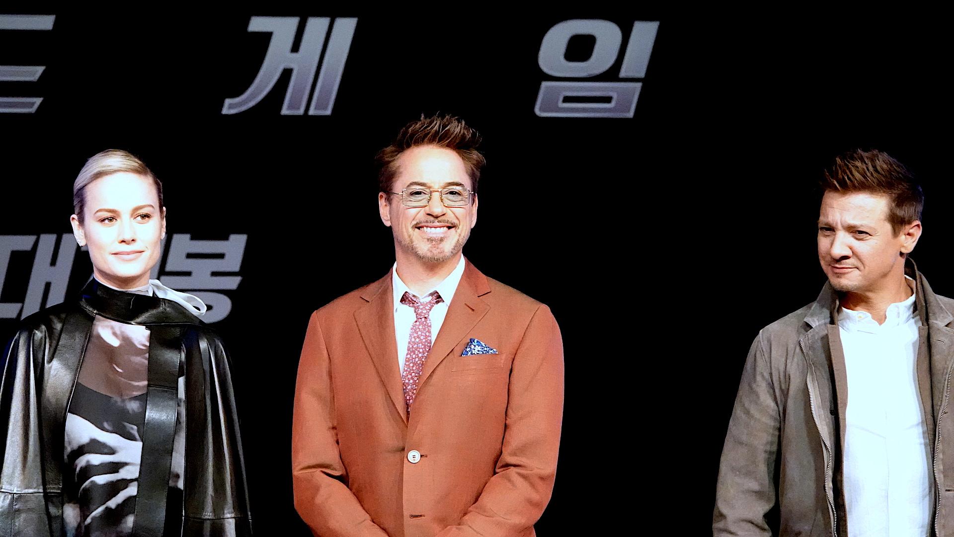 「復仇者聯盟:終局之戰」今天在韓國首爾舉辦記者會。 圖/迪士尼提供
