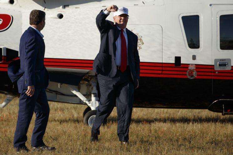 Trump: 'All the fair polls have us winning'
