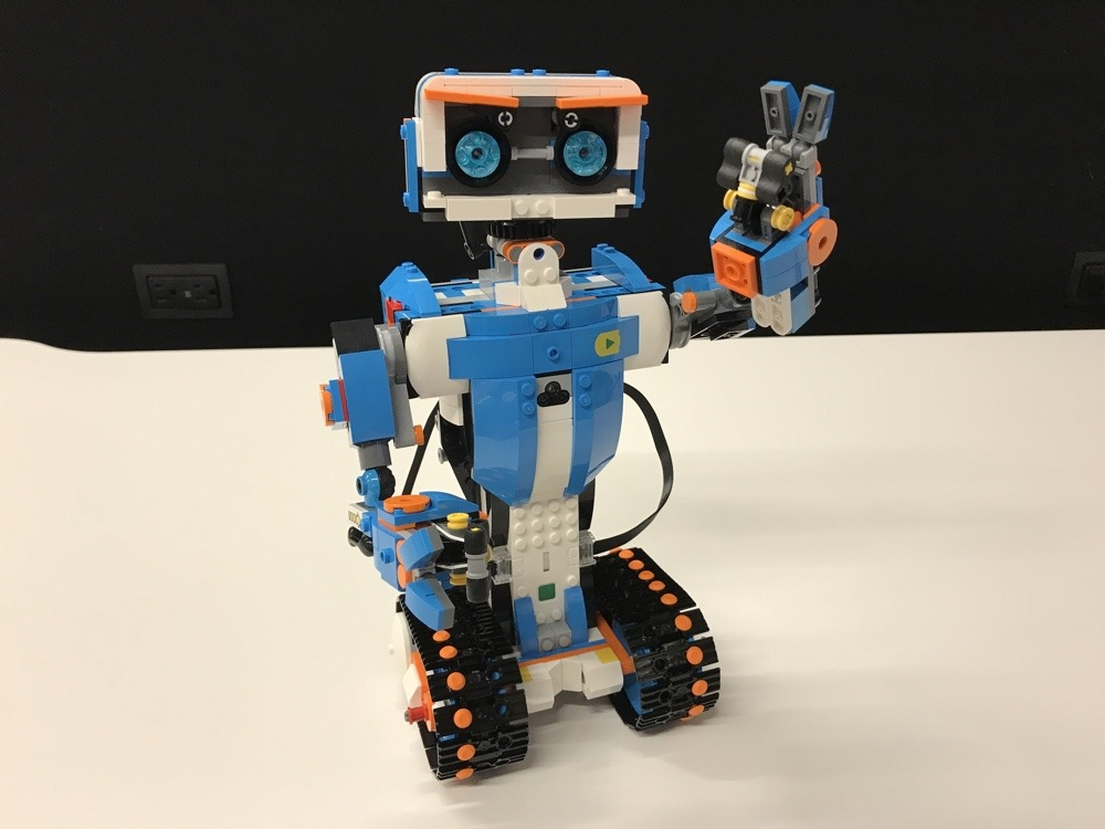 Building a Lego robot can help you understand coding basics