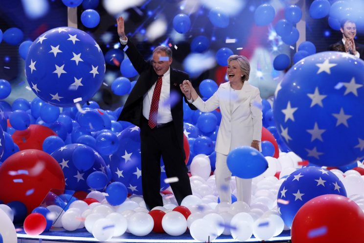 Clinton seizes her moment at DNC