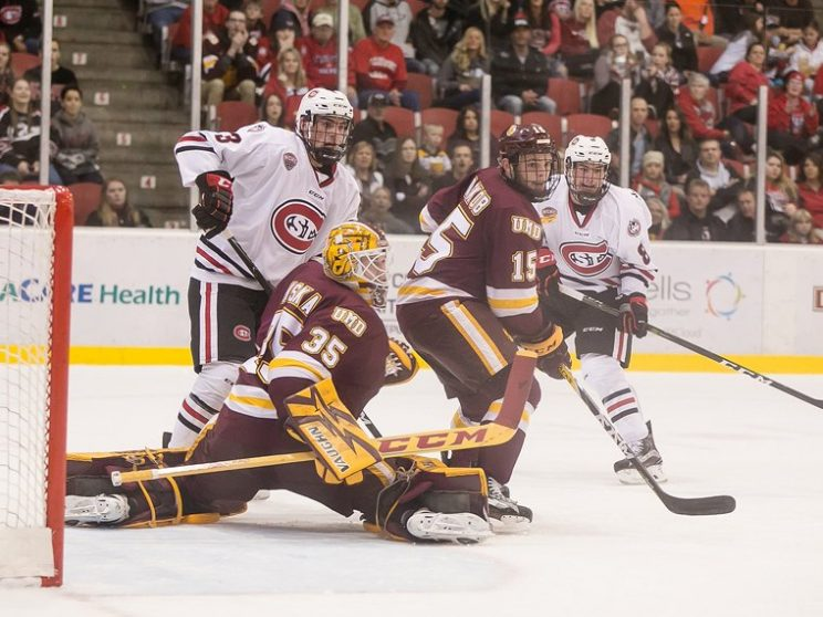 NCHC: Duluth's Slide Tightens Conference Race
