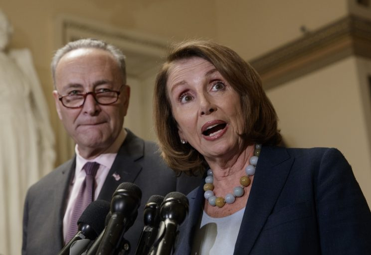 Pelosi, Schumer urge Trump to butt out of budget negotiations