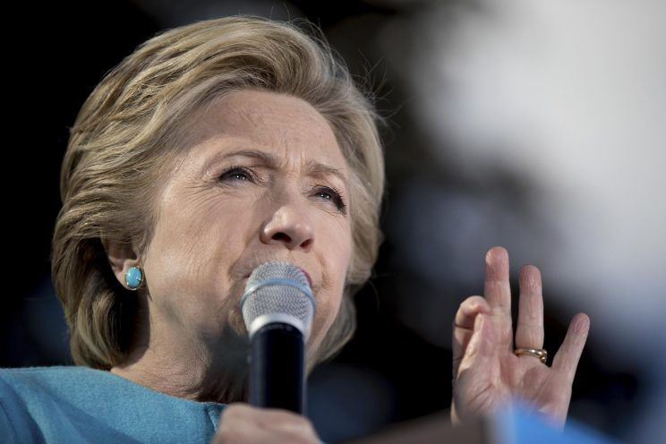 Clinton: Imagine policies on the ballot next to my name