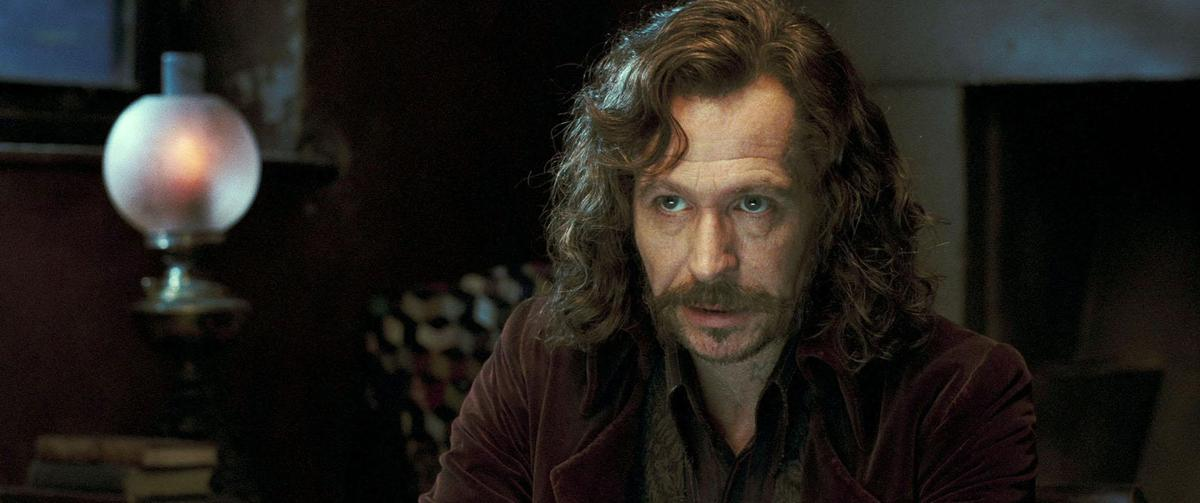 所有哈利波特粉絲都最愛的人物,天狼星,蓋瑞歐德曼自己想出了這個長髮的流浪髮型。(東方IC)
