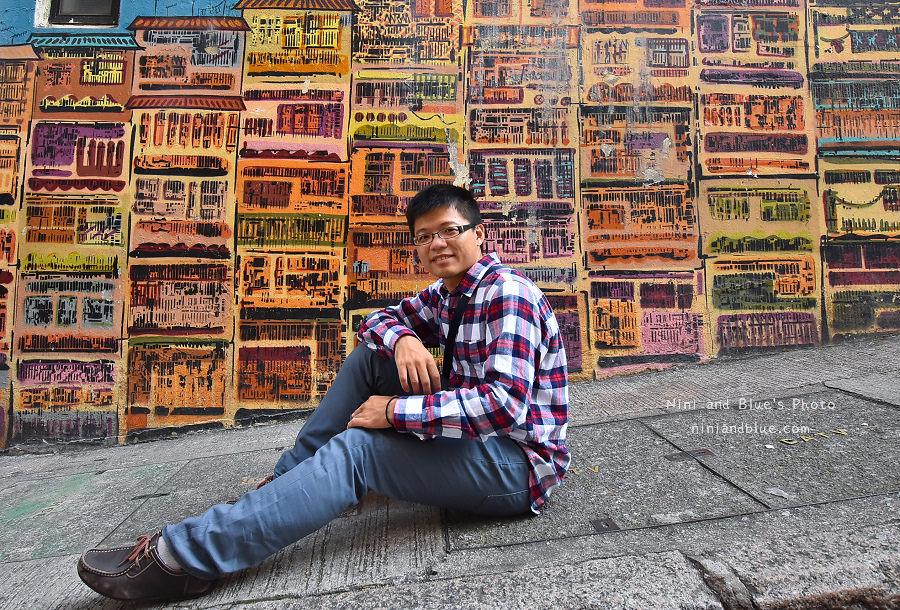 香港景點 舊城中環彩繪牆09