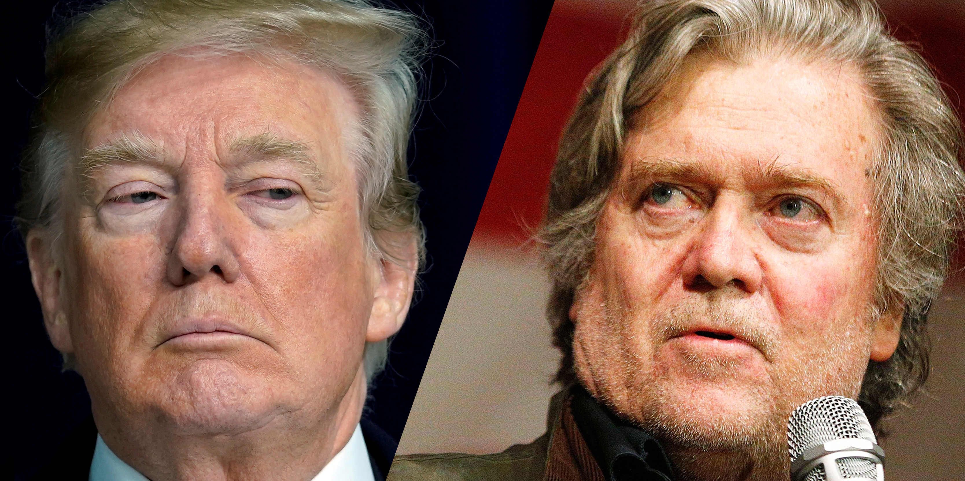 White House suggests there isn't 'any way back' for Steve Bannon