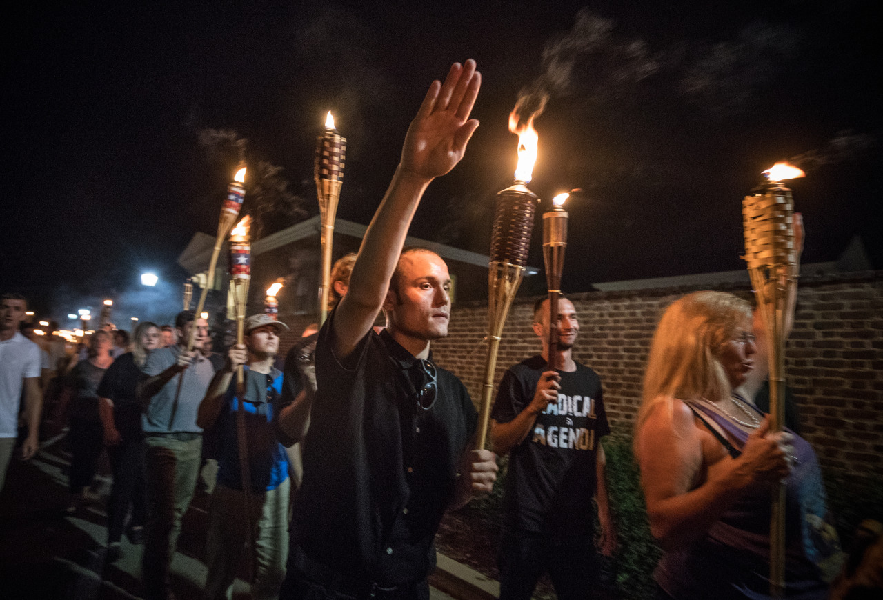American Jews hear the footsteps of white nationalists and worry