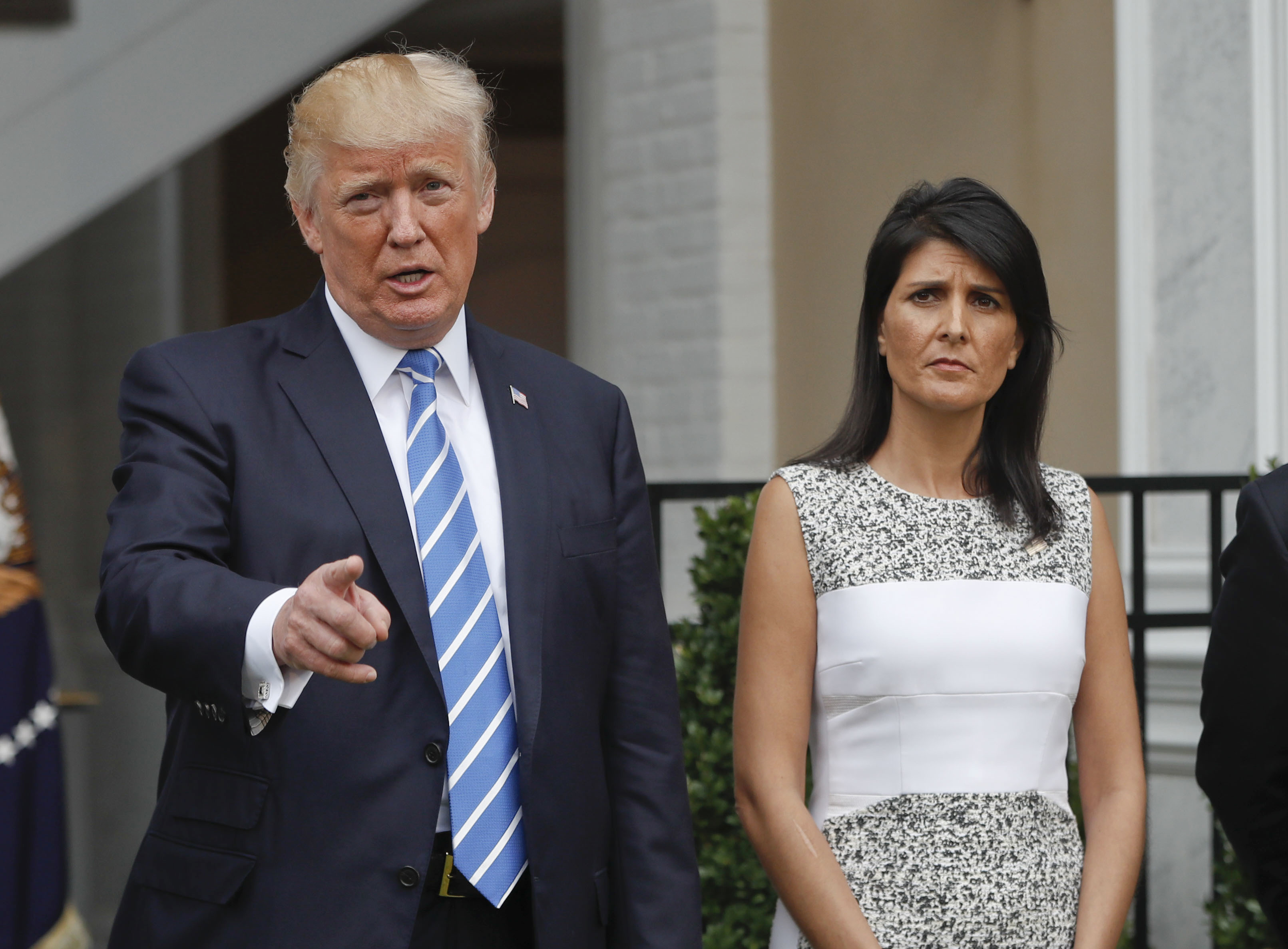 Nikki Haley: I had a 'personal conversation' with Trump about Charlottesville