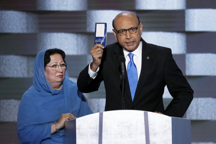 Father of fallen Muslim soldier rebukes Trump