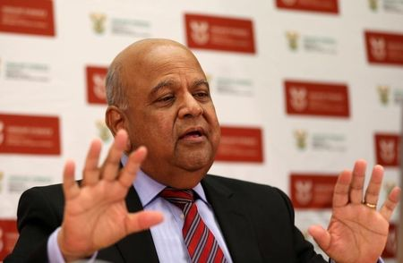 South Africa's Gordhan has full backing of cabinet - minister