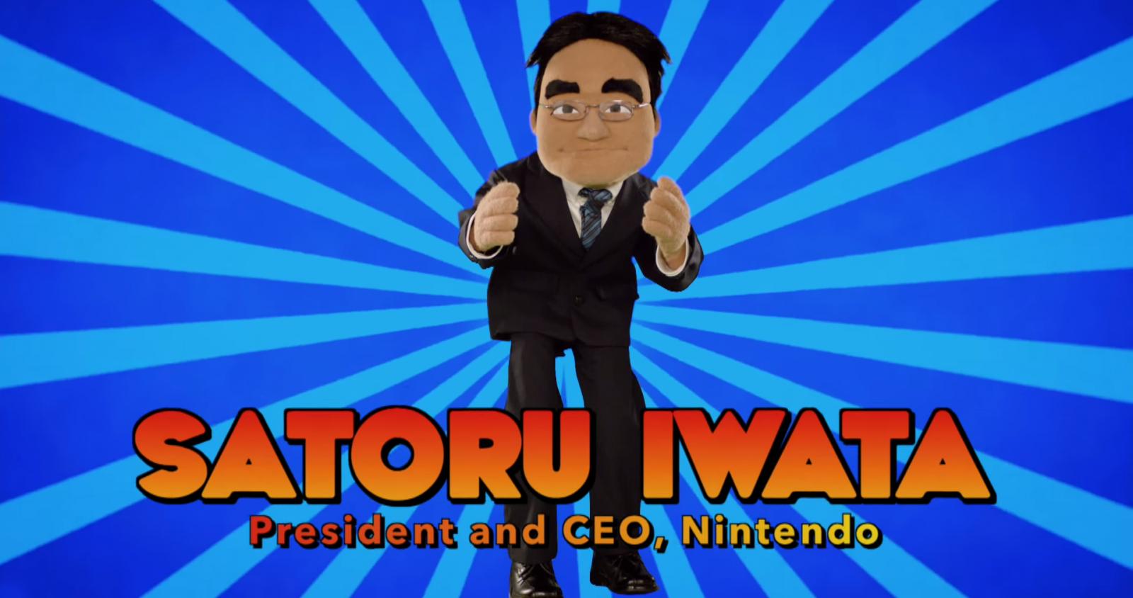 Iwata muppet