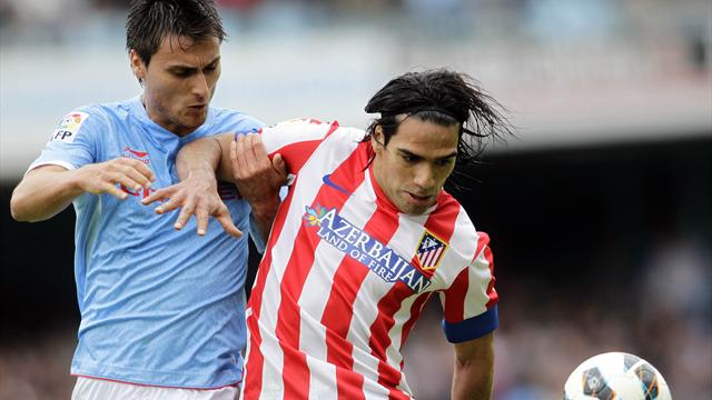Liga - Falcao grabs winner as Atl�tico beat Celta Vigo