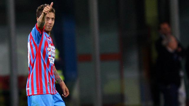 Serie A - Pescara fall to defeat at Catania