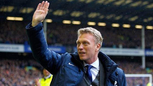 Premier League - Everton give Moyes winning Goodison send-off