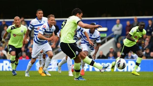 Premier League - Newcastle safe after win over hapless QPR